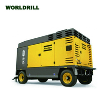 Atlas Copco Sullair Airman Fusheng Ingersoll rand IR Doosan portable diesel screw air compressor