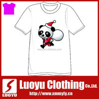 Hot selling image printed chrismas t shirts