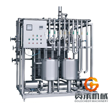 milk and fruit juice plate type UHT sterilizer