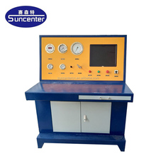 Suncenter max 600 bar pressure gas cylinder testing machine