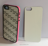 2D 3D Thermal transfer blank cover case for iphone5 6 6s 3D Sublimation Phone Case