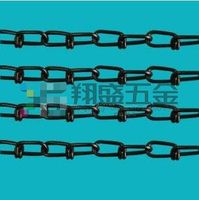weldless USA standard double loop cheap chain link for dog kennels