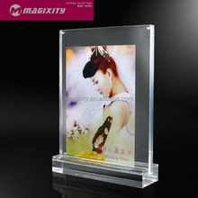 acrylic stand up picture frames