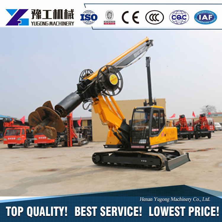 YG Auger Drilling Rig bore Pile Driving Machine
