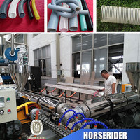Hot sale flexible pvc suction hose pipe production line manufacturer