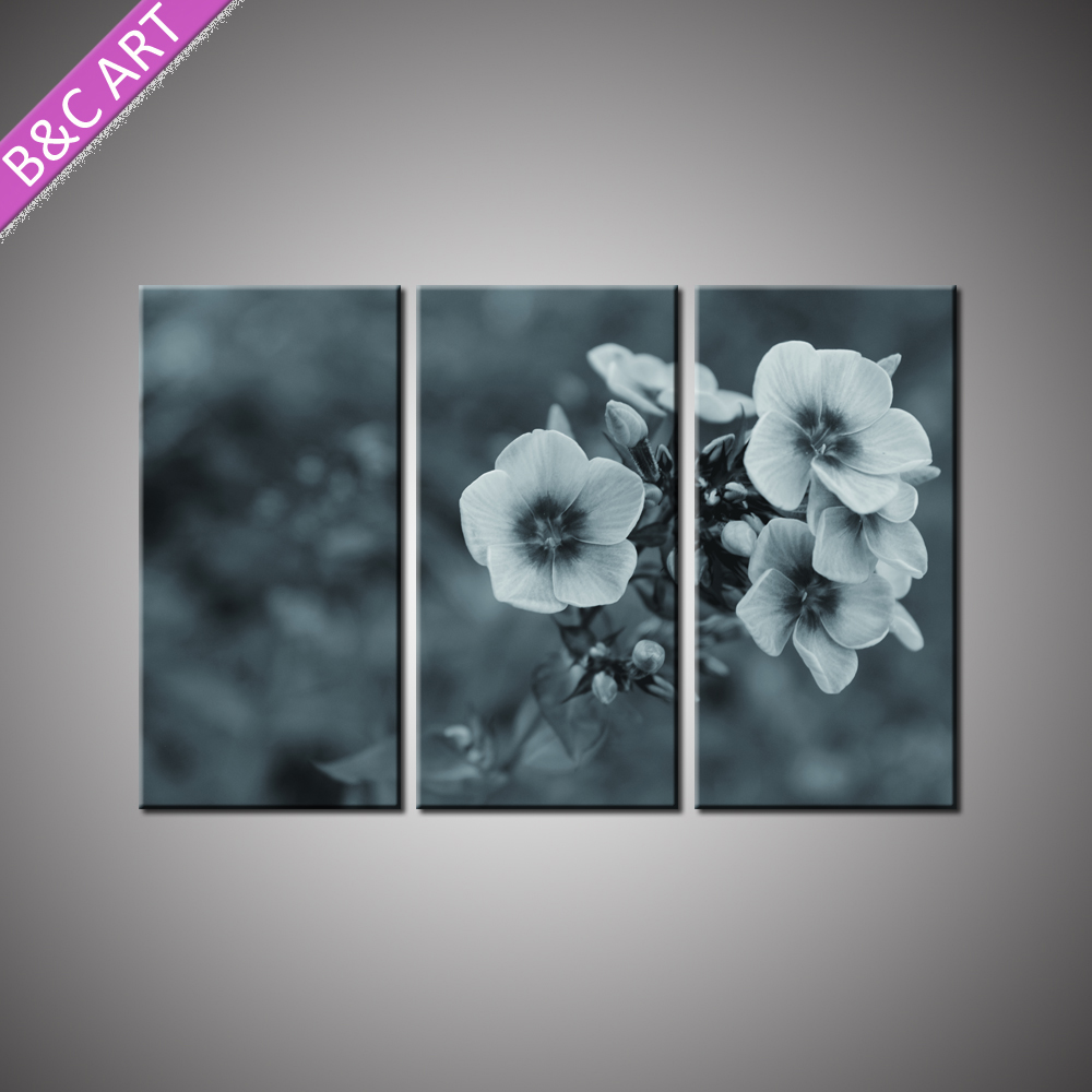 Artwork Wall Decor Canvas Prints Stretched Flower Still Life Painting for Living Room