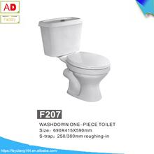 F207Ceramic Sanitary WC Toilet/ closet, China Portable Toliets two piece cheap toliet