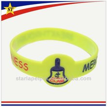 party giveaway gift bulk cheap custom india neon christian silicone bracelet