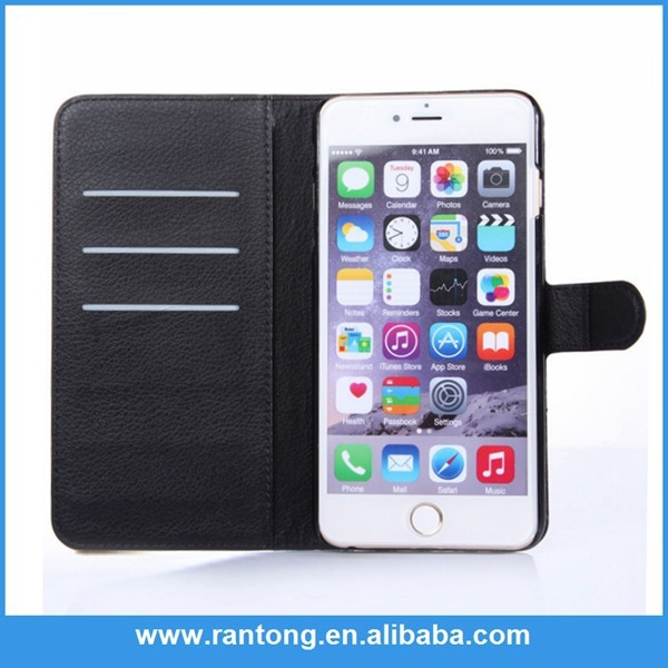 Main product OEM quality wallet case for iphone 3g in many style