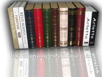 Hot sale decorative book / colorful fake book for bookshelf decoration FB012