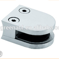 SS304 316 Stainless Steel Square Type Glass Clamp With Flat Bottom
