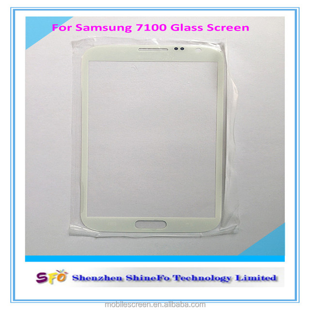 White screen glass lens replacement for Samsung Galaxy Note II N 7100
