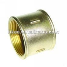 Brass Fitting, Thread Pipe Fitting, Threaded Rod Coupling