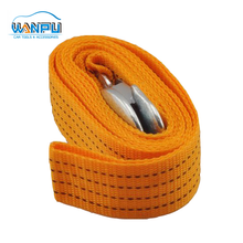 supplier emergency tool heavy duty PE 3 ton 6 feet Stretch car Tow rope with hook