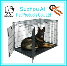 Wholesale Large Double Door Folding Metal Stainless Steel Dog Crate House
