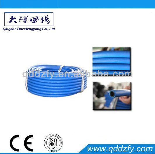 Hydraulic high pressure proof flexible rubber hose pipe
