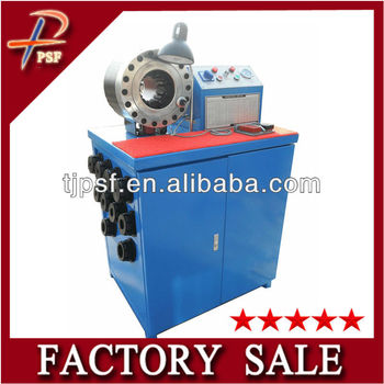 China manufacture low pressure hydraulic hose crimping machine