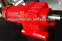 GR Helical Gear Reducer geared motor for conveyor belt R series reduction helical gearbox machinery reducer gear price variator