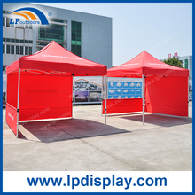 Outdoor pop up tent half wall folding gazebo canopy