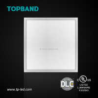 DLC listed led 600x600 ceiling panel light 100lm/w 5 years warranty