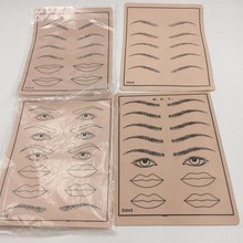 Practice Skin For PMU Beginner Lifelike Practice Skin for School Trainning Eyebrow Lips Practice Skin