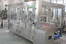 Small invest PET bottled fruit juice processing machine