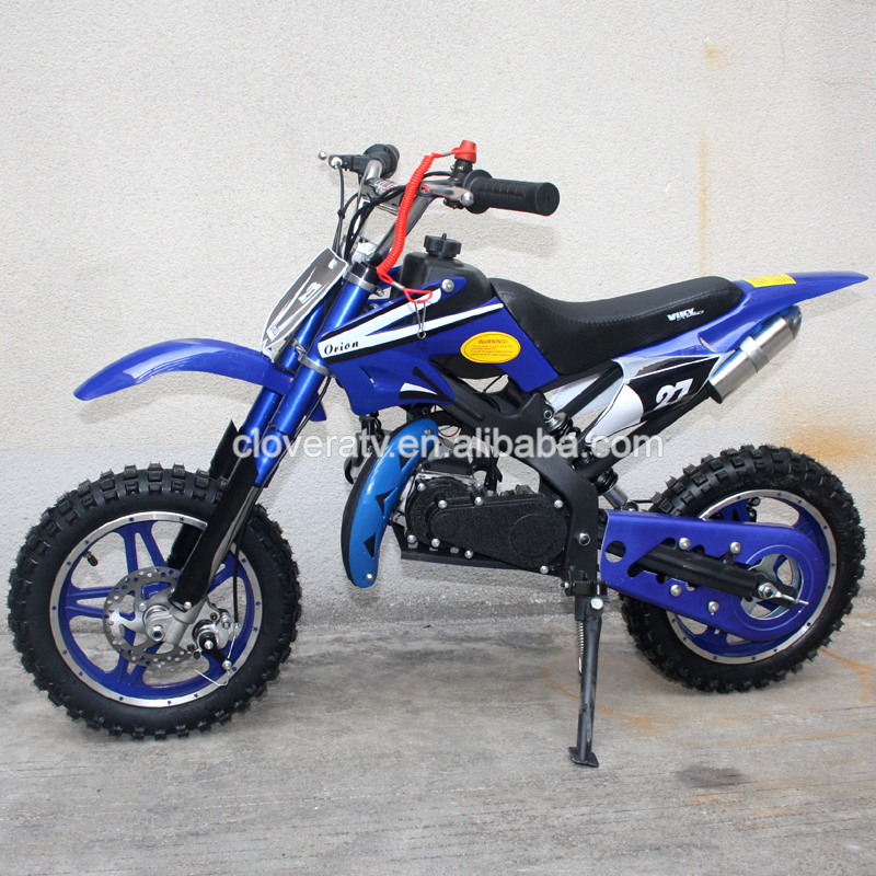 Hot Sale 49cc Dirt Bike Kids Motorcycles with Aluminum Easy Pull Start