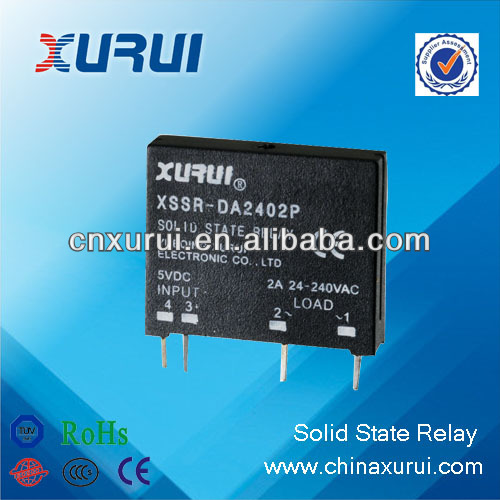 single phase AC type TUV&RoHS miniature solid state relay 240v