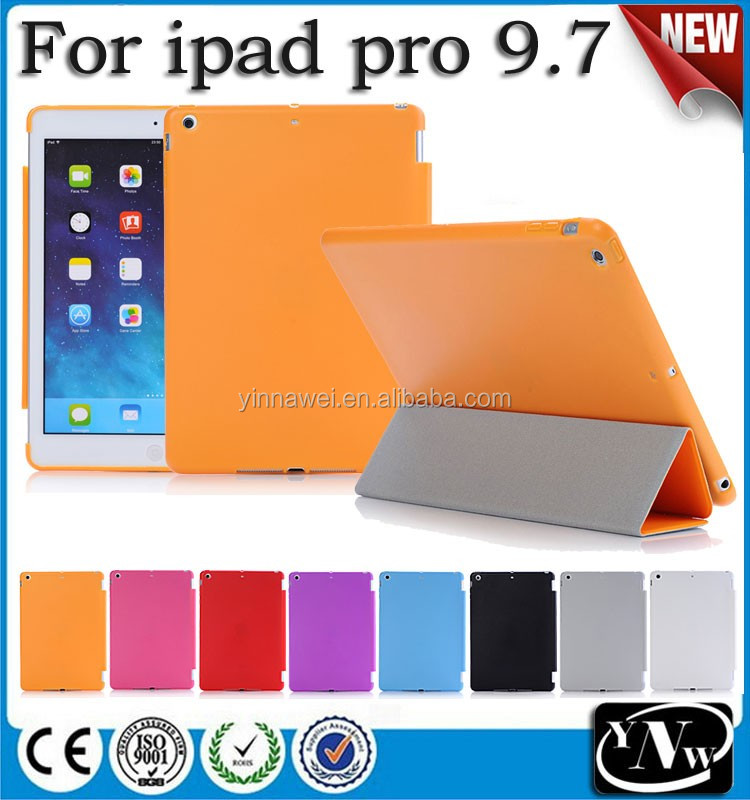 New arrival premium quality pudding matte PC+TPU case cover for iPad Pro