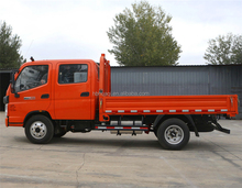Side drop extended cab mini cargo truck for sale in Kenya