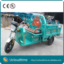 high quality Strong power 1000W 60V 3 wheel electric bicycle electric tricycle for cargo
