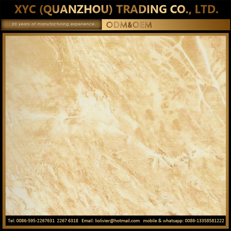 customized full polished glazed porcelain tile