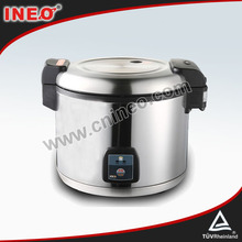 13L Commercial 40 Serving People Non-stick Stainless Steel Inner Pot Electric Rice Cooker For Restaurant And Canteen