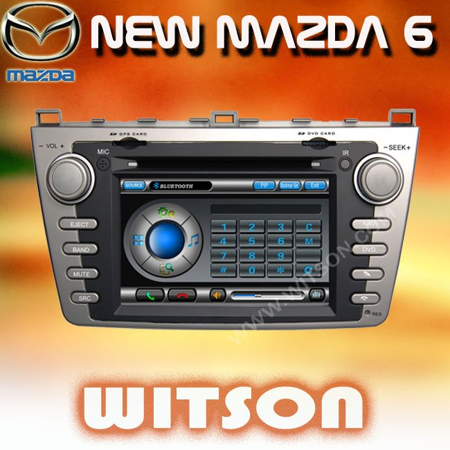 WITSON NEW MAZDA 6 Car DVD Car DVD With GPS