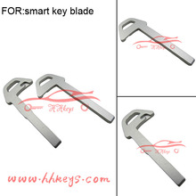 VolvoXC60 accessories Blade steel Key Shell replacement for Car smart key