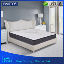 Chinese spring mattress price in pakistan with 5 zone pocket coil and deluxe pillow top design