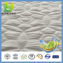 Alibaba China Raw Materials PU Coated Fabric Waterproof Jacquard Mattress Ticking Cloth