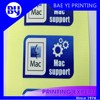 Industrial 3C product packaging and information sticker