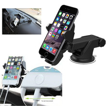2016 Multifunction clip adjustment plastic windscreen windshield Dashboard mobile phone car support mount holder for iphone