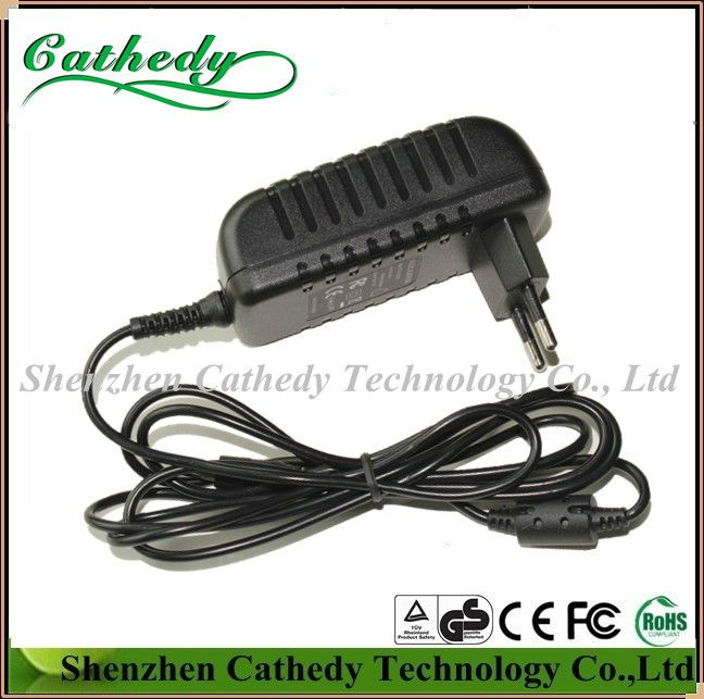Switching Power Adapter 5V 3A 15W EU Plug for ADSL, USB Hub Comply with CE FCC TUV