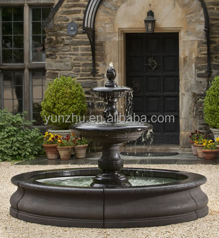Large Bronze Water Fountain for Sale