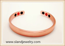 Wholesale high quality Therapy health Germanium Negative Ion and Far Infrared magnetic copper bracelet