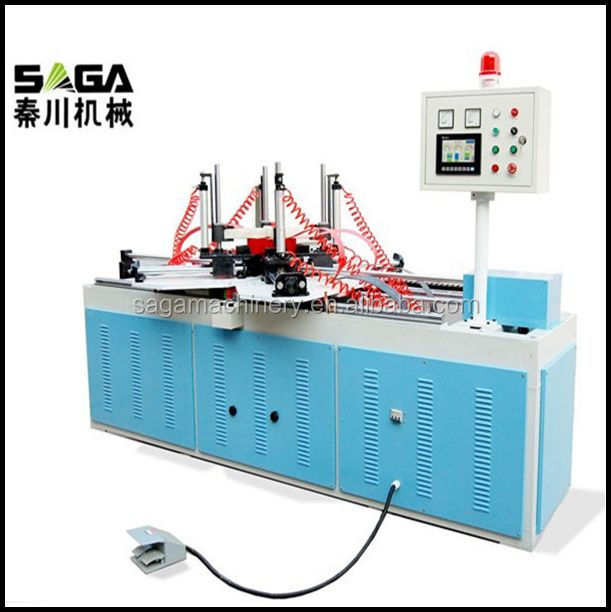 SAGA wooden picture frame assembly press machine