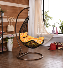 Cheap Price Wicke hanging chair swing chair hanging pod chair