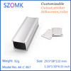 small electrical aluminum enclosure with extrusion
