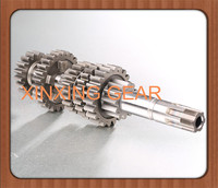 Motorcycle Transmission Parts Main and Counter Shaft with Gear Assy