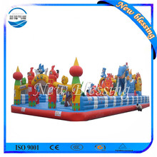 Customized size and color inflatable fun toys, inflatable combo games for kids
