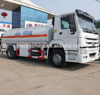 SINOTRUK HOWO 6x4 Oil Tank Trucks ZZ5317N3667W with best price chemical tanker truck