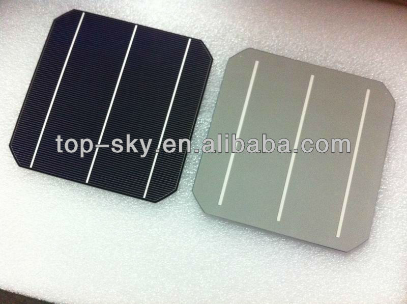 TP-156P Hottest sell 6'' multi-crystalline solar cell supplier high efficiency high quality single monocrystalline solar cell