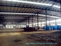 Prefabricated Qatar structural steel frame warehouse